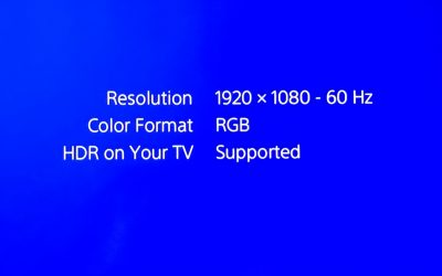 How to enable HDR on a LG television with the Sony Playstation 4 (PS4/PS4 Pro)