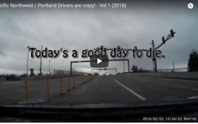 Pacific Northwesterners (and Portland hippies) are crazy drivers!